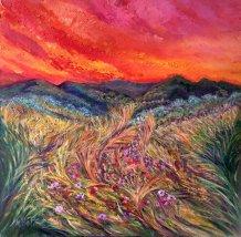 Massimliana Bettiol Fermento di vita (olio su tela 60x60 2016)