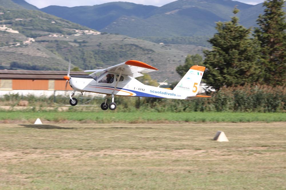 Flight Learning - Trevi, Italy