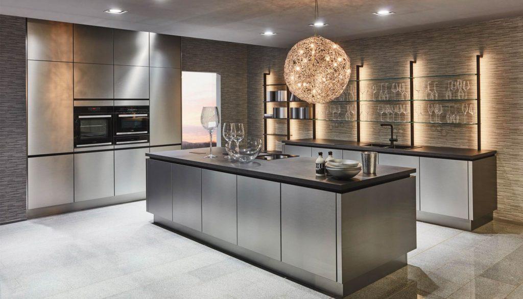 cuisine avec etagere eclairante cuisiniste nice 06 massimo cucine