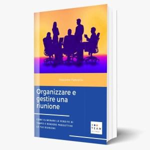 ebook Organizzare e gestire una riunione