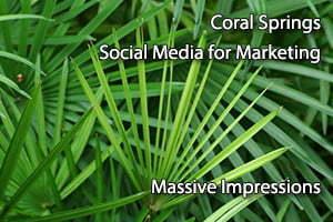 Coral Springs Social Media for Marketing