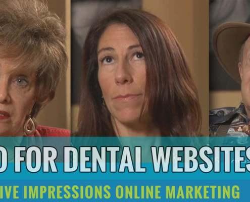 video for dental websites