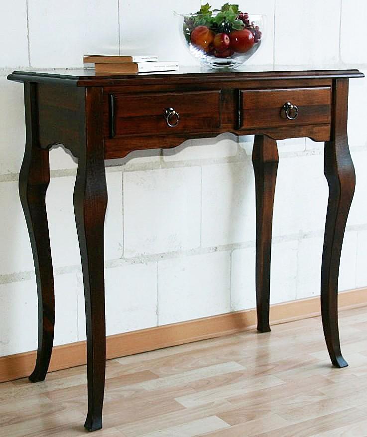 Massivholz Wandtisch Beistelltisch Schreibtisch ...