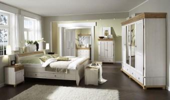 Massivholz Schlafzimmer Set Euro 6teilig komplett Kiefer ...