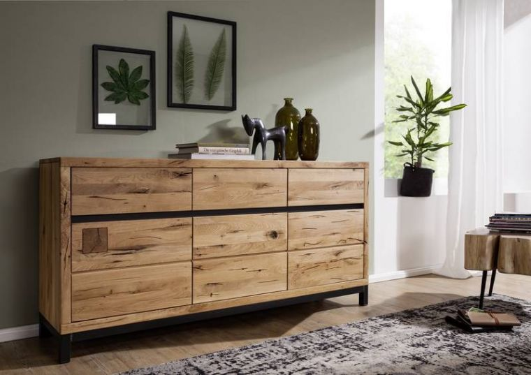 Sideboards Holz Awesome Sideboard Und Tv Regal Fr Den