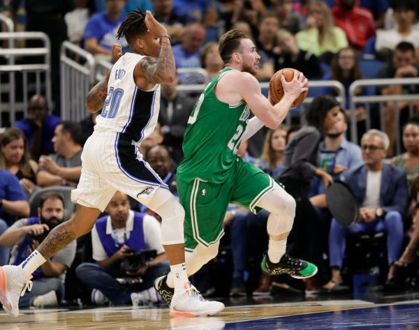 Jaylen Brown, Gordon Hayward, Jayson Tatum stand out in Boston Celtics rout of Orlando Magic