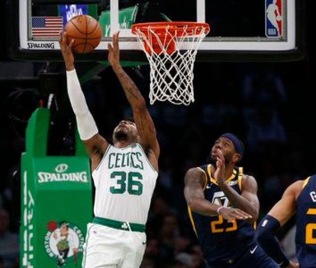 Boston Celtics Go Ice Cold From Deep Fall To Utah Jazz
