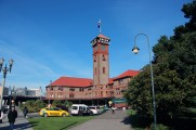 Portland, OR: Portland Amtrak Station, formerly of the Union Pacific Railroad, completed 1896.