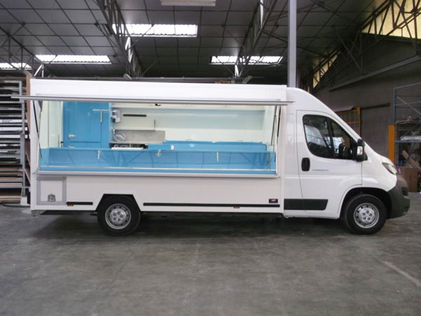 Camion Magasin Poissonnerie Masson Polyfroid