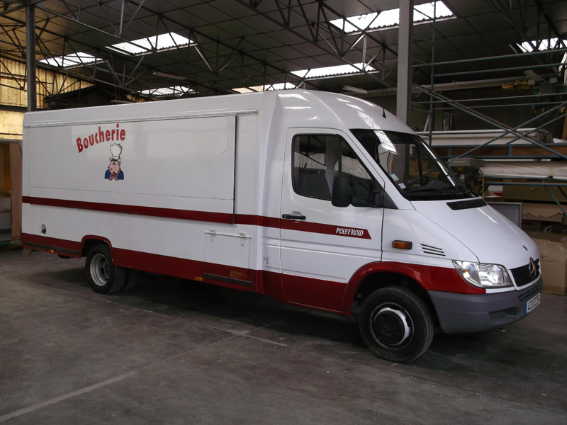 Camion Magasin Occasion Boucherie Masson Polyfroid