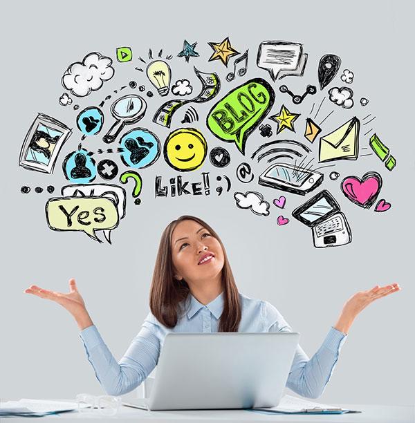 use social media marketing