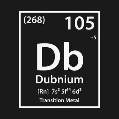 Dubnium (Db) : Sejarah, Penjelasan Unsur dan Kegunaan