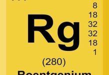 Roentgenium (Rg) Unsur Kimia, Sejarah, Sifat dan Kegunaan