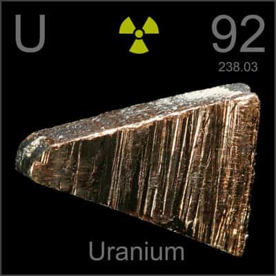 Uranium (U) Unsur Kimia, Sejarah, Sifat, Isotop, Sumber dan Fungsi Manfaat Kegunaan