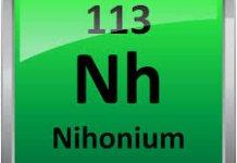 Ununtrium (Uut) Nihonium (Nh) Penjelasan Lengkap