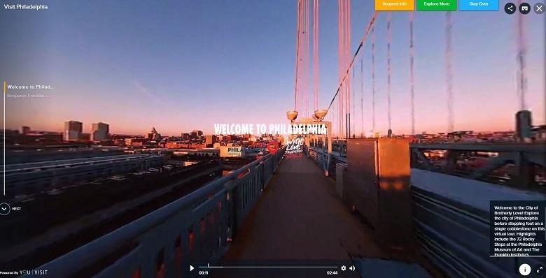 Uso del video inmersivo 360 en la industria del turismo
