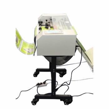Masterbind USA's Laminator paper trimmer unit. Attach to your roll laminator for automatic trimming needs.