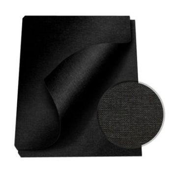 "MasterBind Black 8.5 x 11"" Linen Soft Covers - 100pk. MasterBind Soft Linen Covers provides the traditional presentation with the soft, classic feel. The 8.5 x 11"" features an elegant display that ensures a great depth of quality and are sure to set your project or report apart from the rest. The MasterBind Soft Linen Covers are designed and constructed for easy personalization like offset printing, silk screening, foil stamping, embossing, scored, folded, or even glued. Additionally, there are three color selection including black, navy and maroon. Enhance your reports with this simple but premium soft linen covers today."