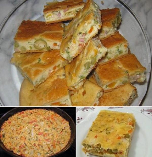 Receita de Torta de Legumes Fácil e Rápida