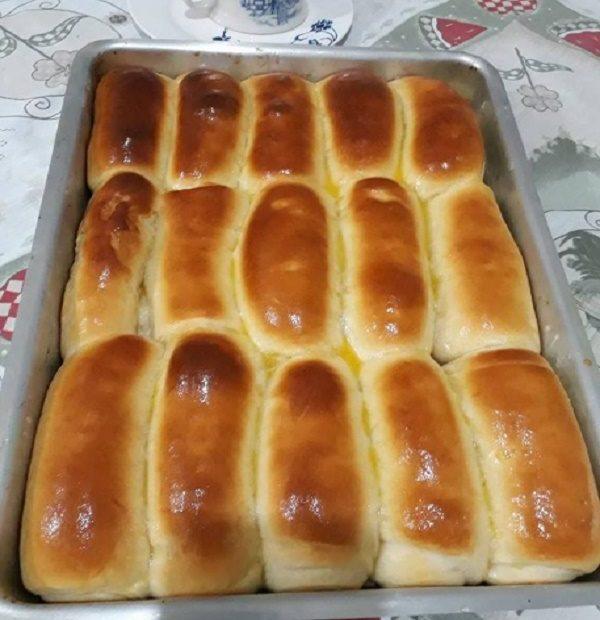 Receita de Pão de Leite Ninho Maravilhoso e Delicioso