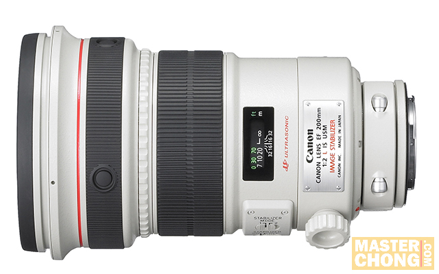 EF200mm f/2L IS - Top