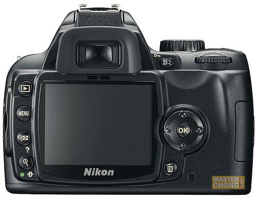 Nikon D60 Back