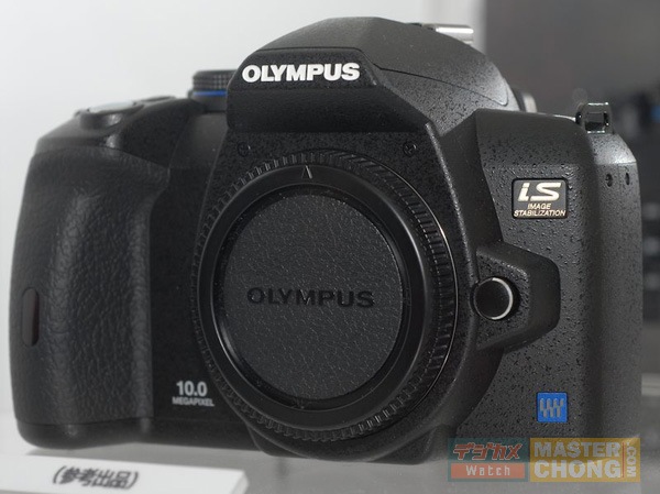 PIE2008: Olympus E-510 Succesor Front View