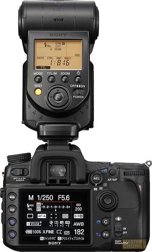 Sony Announces HVL-F58AM Flash Unit