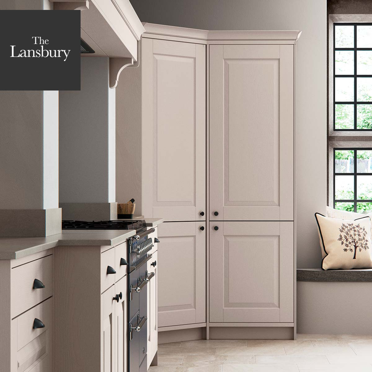 Corner Kitchen Pantry The Lansbury By Masterclass Kitchens