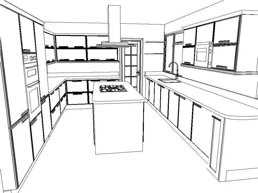3d Kitchen Planning