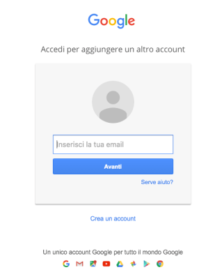 Accedere Account Gmail