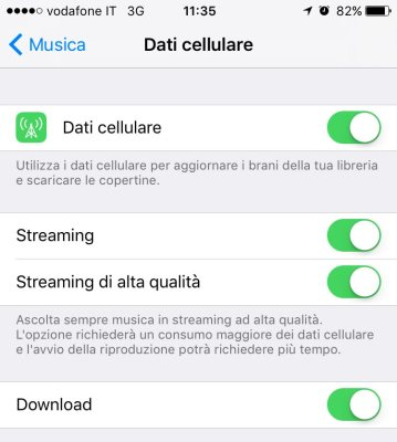Alta qualita audio Apple Music