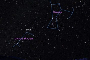 Sirius Star & Orion