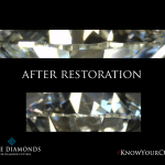 Diamond re-cut, repair & re-polish service.