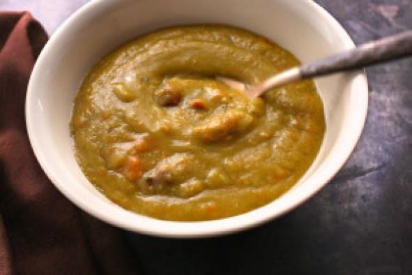 pea soup recipe with ham bone slow cooker