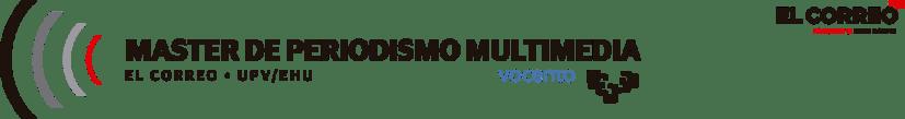 Máster de periodismo EL CORREO UPV-EHU logo
