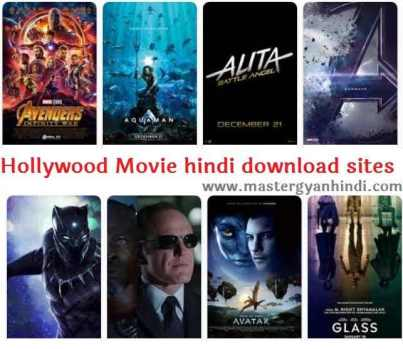 Hollywood movies in hindi download best sites list - Master