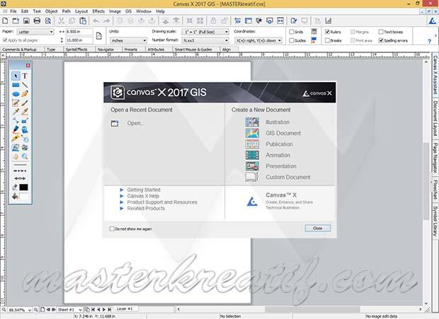 ACD Systems Canvas X 2017 GIS