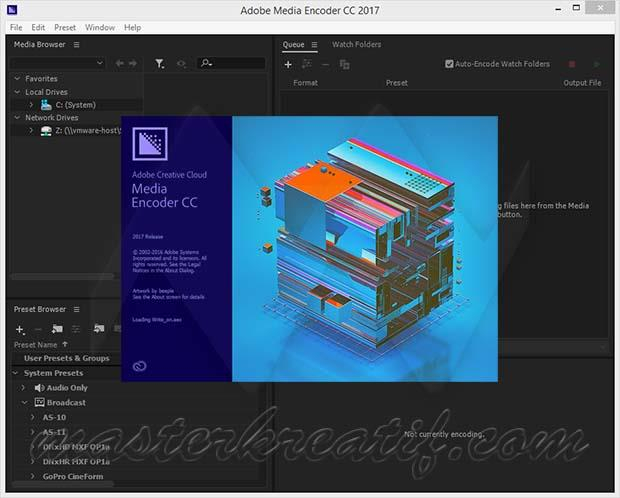 Adobe Media Encoder CC 2017