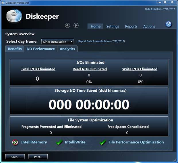 Diskeeper Professional