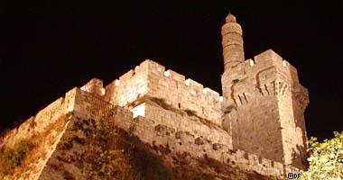 El Torre de David, Jerusalén, Israel