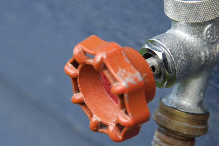 basement leak winterize your hose bibb
