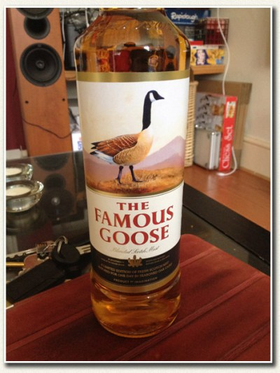 New expression - The Famous Goose - Master of Malt Whisky Blog