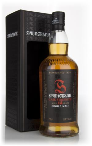 Springbank 12 Cask Strength, Batch 5, 2013