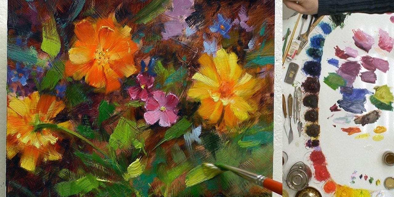 How to Paint Daisies and Marigolds (9 Steps)