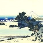 'Shichiri beach in Sagami Province' art by Katsushika Hokusai