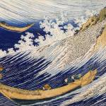 "Japanese wave arts ""Oceans of Wisdom"" by Katsushika Hokusai"