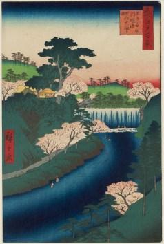 Dam on the Otonashi River at Ōji