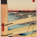 Nihonbashi Bridge and Edobashi Bridge, by Utagawa Hiroshige