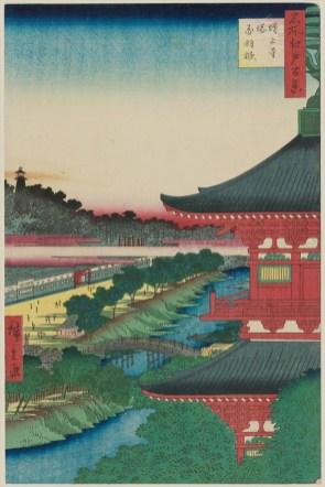 Zōjōji Pagoda and Akabane